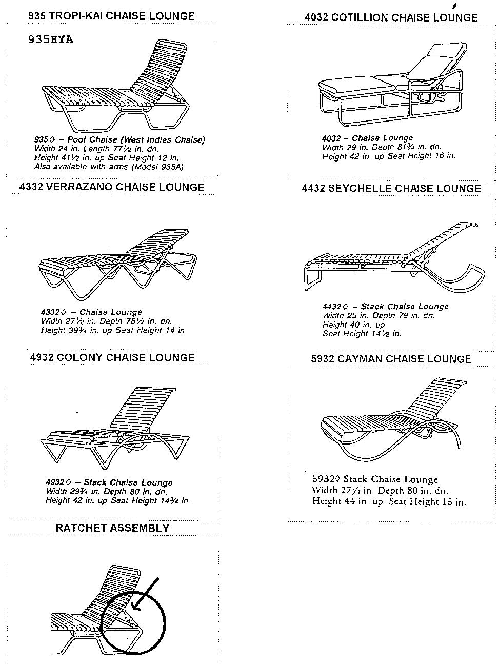 Lounge Chairs  sc 1 st  Consumer Recalls - Justia : tropitone chaise lounge - Sectionals, Sofas & Couches