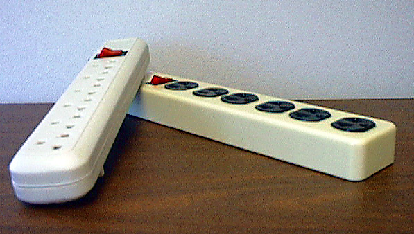Picture of Recalled Strip Surge Protectors