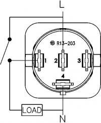 radio shack rocker switch wiring diagram