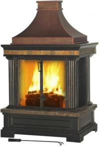 Freestanding Steel Outdoor Fireplaces